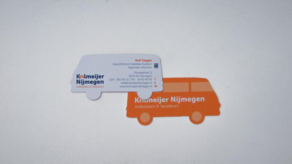 Kolmeijer Nijmegen Visitekaartje